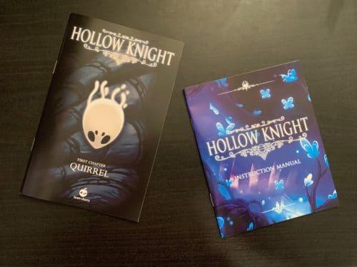 CollectorsEditionHollowKnight-fumetto-manuale