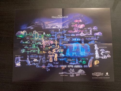 CollectorsEditionHollowKnight-mappaHallownest