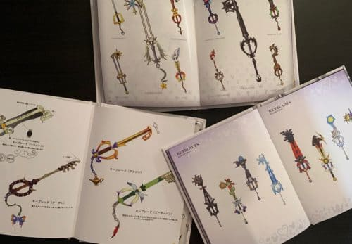 ArtbookdiKingdomHearts Keyblade