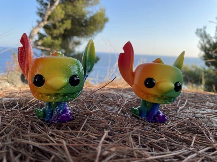 FunkoPopdiStitch PrideRainbow