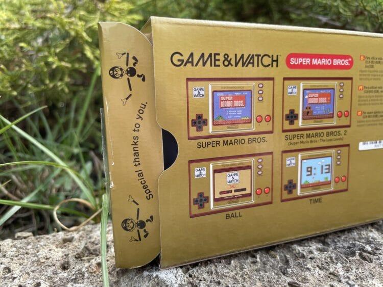 Game&WatchSuperMarioBros MarioLuigi